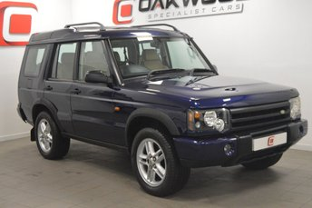 2004 LAND ROVER DISCOVERY 2 2.5 LANDMARK TD5 [7 SEATS] 5d AUTO 136 BHP £SOLD