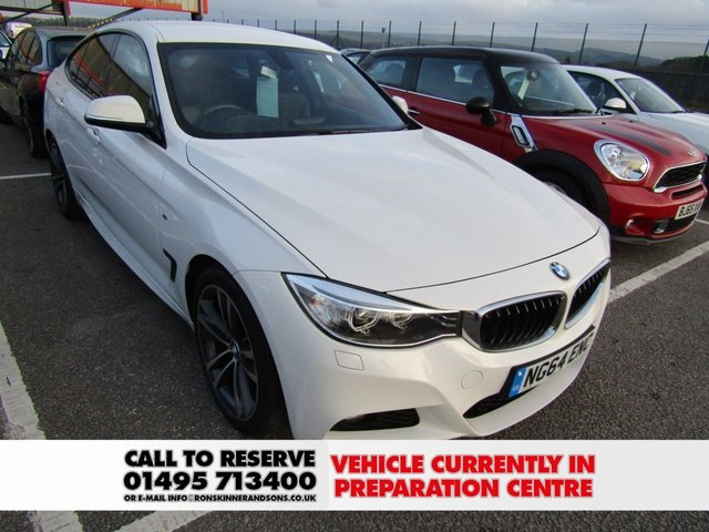 View our 2014 64 BMW 3 SERIES 2.0 320D M SPORT GRAN TURISMO 5d AUTO 181 BHP