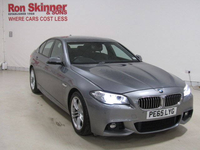 View our 2015 65 BMW 5 SERIES 2.0 520D M SPORT 4d AUTO 188 BHP