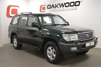 USED 2001 Y TOYOTA LAND CRUISER AMAZON 4.7 VX 5d AUTO 232 BHP VERY LOW MILES + MASSIVE HISTORY + 7 SEATS + LEATHER