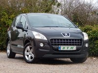 USED 2011 61 PEUGEOT 3008 1.6 SR HDI 5d 112 BHP NEW MOT ON PURCHASE, 7 SEATS, FINANCE AVAILABLE