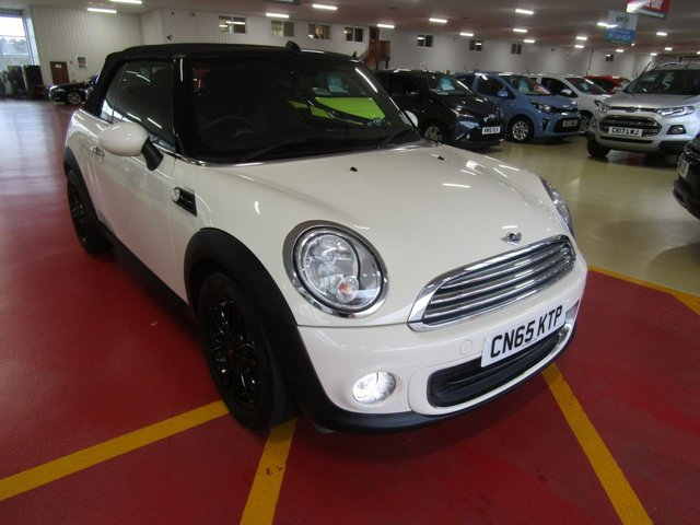 View our 2015 65 MINI CONVERTIBLE 1.6 ONE 2d 98 BHP