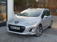 USED 2011 61 PEUGEOT 308 1.6 E-HDI SW ACTIVE 5d 112 BHP