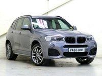 2015 BMW X3 2.0 XDRIVE20D M SPORT 5d AUTO 188 BHP £23372.00