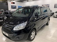 2015 FORD TOURNEO CUSTOM 2.2 300 LIMITED TDCI 5d 124 BHP 6SP DIESEL 9 SEATER MINIBUS  £13195.00