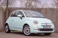 2016 FIAT 500 1.2 LOUNGE 3d 69 BHP £8250.00