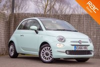 USED 2016 66 FIAT 500 1.2 LOUNGE 3d 69 BHP £0 DEPOSIT BUY NOW PAY LATER - 1 OWNER - FULL FIAT S/H