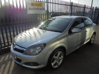 USED 2006 06 VAUXHALL ASTRA 1.8 i 16v SRi Sport Hatch 3dr Service History with 10 Stamps