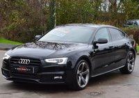 2014 AUDI A5 3.0 SPORTBACK TDI QUATTRO S LINE BLACK ED S/S 5d AUTO 242 BHP £20995.00