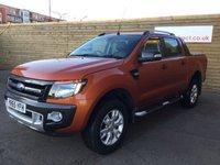 2015 FORD RANGER 3.2 WILDTRAK 4X4 DCB TDCI 1d AUTO 197 BHP £17499.00