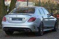 USED 2015 04 MERCEDES-BENZ C CLASS 2.1 C220 BLUETEC AMG LINE 4d AUTO 170 BHP C63 CONVERSION STUNNING CAR