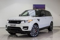 USED 2013 LAND ROVER RANGE ROVER SPORT 3.0 SDV6 HSE DYNAMIC 5d AUTO 288 BHP Front & Rear Heated Seats, LED Running Lights, Reverse Camera, Satellite Navigation