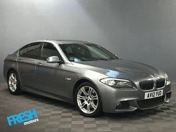 2012 BMW 5 SERIES 2.0 520D M SPORT 4d AUTO £12500.00
