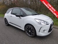 USED 2012 12 CITROEN DS3 1.6 DSTYLE PLUS 3d 120 BHP All retail cars sold include -3 months warranty, HPI Certificate, 12 months AA breakdown cover, pre-delivery workshop inspection and a minimum 6 months Mot.