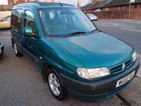 2002 CITROEN BERLINGO 2.0 MULTISPACE FORTE HDI 5d 89 BHP £1495.00