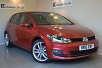 2016 VOLKSWAGEN GOLF 2.0 GT EDITION TDI BLUEMOTION TECHNOLOGY DSG 5d AUTO 148 BHP £15495.00