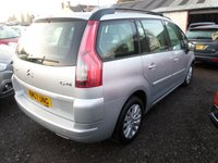 USED 2007 57 CITROEN C4 GRAND PICASSO 1.6 VTR PLUS HDI EGS 5d AUTO 110 BHP
