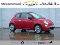 USED 2013 13 FIAT 500 1.2 LOUNGE 3d 69 BHP One Owner Service History A/C Buy Now, Pay Later Finance!