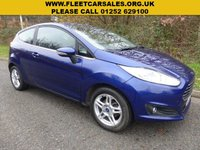 USED 2013 63 FORD FIESTA 1.0 ZETEC 3d 79 BHP All retail cars sold are fully prepared and include - Oil & filter service, 6 months warranty, minimum 6 months Mot, 12 months AA breakdown cover, HPI vehicle check assuring you that your new vehicle will have no registered accident claims reported, or any outstanding finance, Government VOSA Mot mileage check. Because we are an AA approved dealer, all our vehicles come with free AA breakdown cover and a free AA history check.. Low rate finance available. Up to 3 years warranty available.
