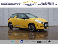 USED 2016 16 DS DS 3 1.2 PURETECH CHIC 3d 80 BHP One Owner Full Citroen History Buy Now, Pay Later Finance!