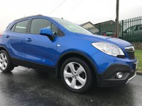 2014 VAUXHALL MOKKA 1.7 CDTI EXCLUSIVE 48000 MILES FULL VAUXHALL SERVICE HISTORY TRY &  FIND ONE CLEANER  £8295.00