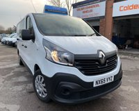 USED 2015 65 RENAULT TRAFIC 1.6 LL29 BUSINESS DCI S/R W/V 1d 115 BHP IMMACULATE LOW MILEAGE EXAMPLE