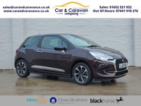 USED 2016 16 DS DS 3 1.6 BLUEHDI ELEGANCE S/S 3d 98 BHP One Owner Full Dealer History Buy Now, Pay Later Finance!