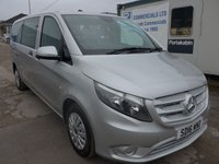 USED 2016 16 MERCEDES-BENZ VITO 2.1 114 BLUETEC 9 SEATER TOURER PRO, 136 BHP, AIR CONDITIONING