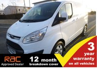 2017 FORD TRANSIT CUSTOM 290 L1 H1 Limited 130ps (Euro6) £12750.00