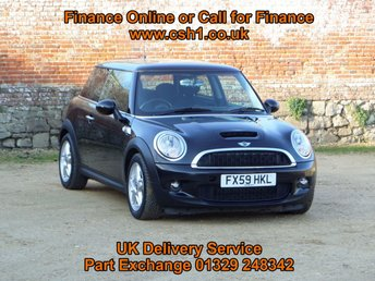 2009 MINI HATCH COOPER 1.6 COOPER S 3d 172 BHP £4785.00