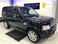 USED 2011 61 LAND ROVER DISCOVERY 3.0 SD V6 HSE 5dr FULL S/H! 7 SEATS! SAT NAV!