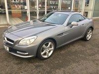 2011 MERCEDES-BENZ SLK 1.8 SLK 250 BLUEEFFICIENCY 2DR CONVERTIBLE AUTO 204 BHP £11990.00