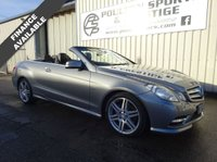 USED 2012 12 MERCEDES-BENZ E CLASS 1.8 E250 CGI BLUEEFFICIENCY SPORT ED125 2d AUTO 204 BHP
