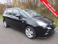 USED 2013 63 VAUXHALL ZAFIRA EXCLUSIV CDTI All retail cars sold include -3 months warranty, HPI Certificate, 12 months AA breakdown cover, pre-delivery workshop inspection and a minimum 6 months Mot.