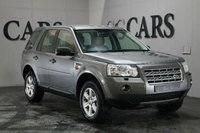 USED 2008 57 LAND ROVER FREELANDER 2.2 TD4 GS 5d 159 BHP Light Beige Full Leather, 17 Inch Alloy Wheels, Dual Zone Climate Control, Park Distance Control, Leather Multi Function Steering Wheel, Cruise Control, Automatic Headlights.