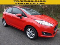 USED 2015 15 FORD FIESTA ZETEC All retail cars sold are fully prepared and include - Oil & filter service, 6 months warranty, minimum 6 months Mot, 12 months AA breakdown cover, HPI vehicle check assuring you that your new vehicle will have no registered accident claims reported, or any outstanding finance, Government VOSA Mot mileage check. Because we are an AA approved dealer, all our vehicles come with free AA breakdown cover and a free AA history check.. Low rate finance available. Up to 3 years warranty available.