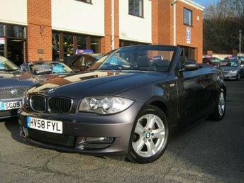 2008 BMW 1 SERIES 2.0 120I SE 2d AUTO 168 BHP £5995.00