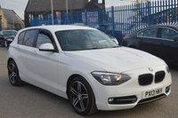 2013 BMW 1 SERIES 1.6 114I SPORT 5d 101 BHP £8495.00