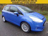 USED 2013 13 FORD B-MAX 1.6 TITANIUM 5d AUTO 104 BHP All retail cars sold are fully prepared and include - Oil & filter service, 6 months warranty, minimum 6 months Mot, 12 months AA breakdown cover, HPI vehicle check assuring you that your new vehicle will have no registered accident claims reported, or any outstanding finance, Government VOSA Mot mileage check. Because we are an AA approved dealer, all our vehicles come with free AA breakdown cover and a free AA history check.. Low rate finance available. Up to 3 years warranty available.