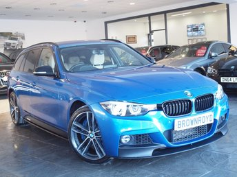 2017 BMW 3 SERIES 3.0 335D XDRIVE M SPORT SHADOW EDITION TOURING 5d AUTO 308 BHP £29890.00