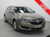 USED 2015 65 VAUXHALL INSIGNIA 1.6 TECH LINE CDTI 5d AUTO 134 BHP 1 Owner, Full Vauxhall Service History, serviced 02/11/2016 at 6,779 miles, 24/10/2017 at 15,030 miles and 25/10/2018 at 25,935 miles and comes with an MOT until 2nd September 2019. This stunning car comes in beautiful Metallic Aurum and is fully equipped with Sat Nav, Front and Rear Parking Sensors, Bluetooth, Air Conditioning, Cruise Control, Leather Multi Functional Steering Wheel, Alloys, USB/AUX and Vauxhall IntelliLink. Finance Available at 9.9% APR Representative.
