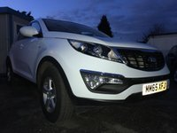 2015 KIA SPORTAGE 1.7 CRDI 1 ISG 5d ONE PRIVATE OWNER FROM NEW  £11000.00
