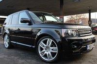 2013 LAND ROVER RANGE ROVER SPORT 3.0 SDV6 HSE BLACK 5d AUTO 255 BHP £24990.00