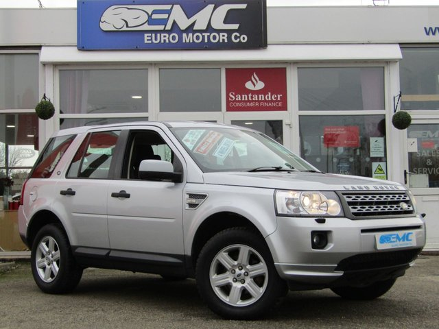 2012 12 LAND ROVER FREELANDER 2.2 TD4 GS 5d 150 BHP