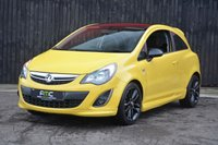 USED 2014 64 VAUXHALL CORSA 1.2 LIMITED EDITION 3d 83 BHP 1 Owner From New