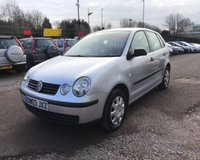 USED 2006 03 VOLKSWAGEN POLO 1.2 1d