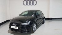 2015 AUDI A1 1.6 TDI S LINE STYLE EDITION 3d 103 BHP £11977.00