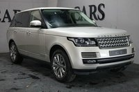 USED 2012 62 LAND ROVER RANGE ROVER 4.4 SDV8 VOGUE SE  5d AUTO 339 BHP HDD Satellite Navigation + Meridian Premium Surround Sound + Bluetooth Connectivity + DAB Radio, Remote Power Tailgate, Heated Leather Multi Function Steering Wheel, Front and Rear Park Distance Control + Reverse Camera, Adaptive Cruise Control, Heated Electric Powerfold Mirrors, 20 Inch Alloy Wheels, Digital 3 Zone Climate Control