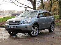 2005 LEXUS RX 3.0 300 LE 5d AUTO 204 BHP £3311.00