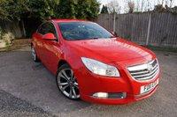 2011 VAUXHALL INSIGNIA 1.8 SRI NAV VX-LINE RED 5d 138 BHP £5000.00